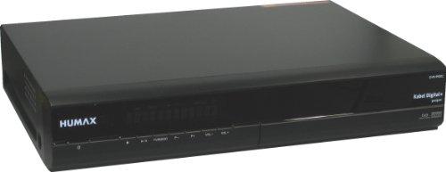 Humax DVR-9900 C Kabel Receiver (160 GB Festplatte, zertifiziert f�r Kabel Deutschland, MPEG-2, SCART) schwarz