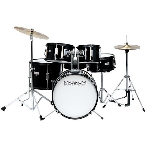 Magnum Junior 16 black � Schlagzeug