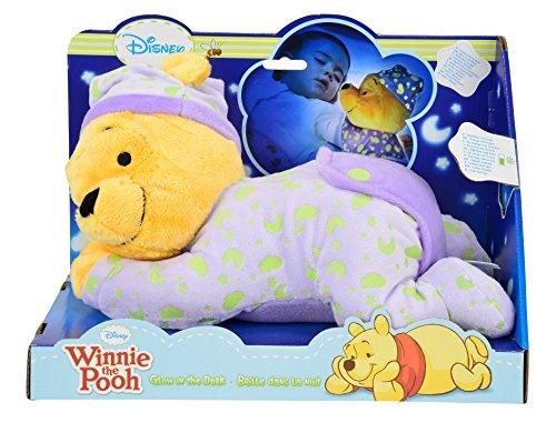 Simba 6315871568 - Disney Winnie The Puuh Gute Nacht B�r mit Leuchtsymbolen