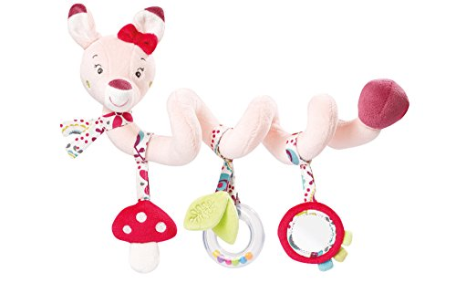 Fehn 076486 Babyspielzeug Activity - Spirale Sweetheart