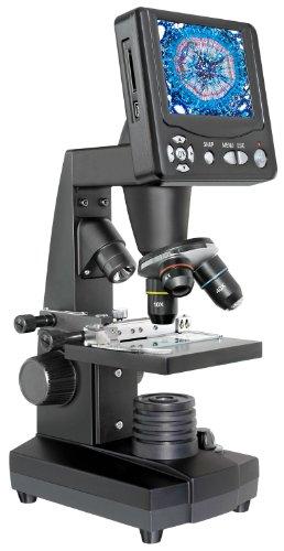 """Bresser LCD-Mikroskop 50x-500x (2000x digital), 5 Megapixel, 8.9cm (3.5"""") LCD Display"""