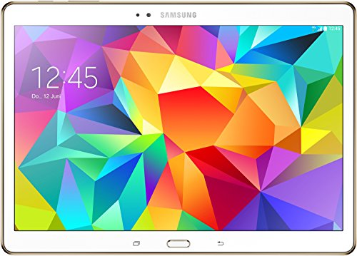 Samsung Galaxy Tab S 26,67 cm (10,5 Zoll) LTE Tablet-PC (Quad-Core, 1,9GHz, 3GB RAM, 16GB interner Speicher, Android) wei�
