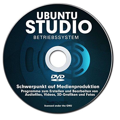 Betriebssystem UBUNTU STUDIO 2016 f�r PC & Notebook NEU auf DVD 32 oder 64 Bit ! Distribution mit Schwerpunkt auf Medienproduktion-PREMIUM ORIGINAL von STILTEC �