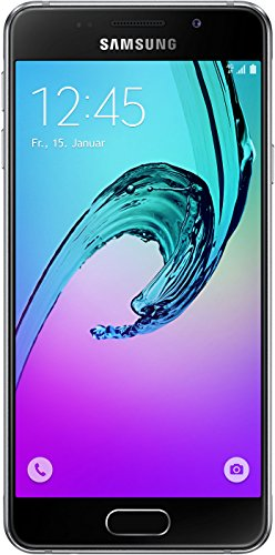 Samsung Galaxy A3 (2016) Smartphone (4,7 Zoll (12,04 cm) Touch-Display, 16 GB Speicher, Android 5.1) schwarz