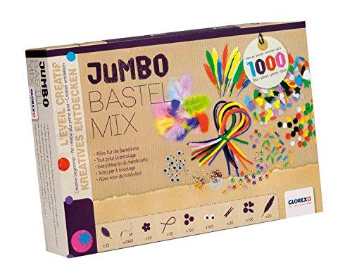 Jumbo-Bastel-Mix, 1000 Teile