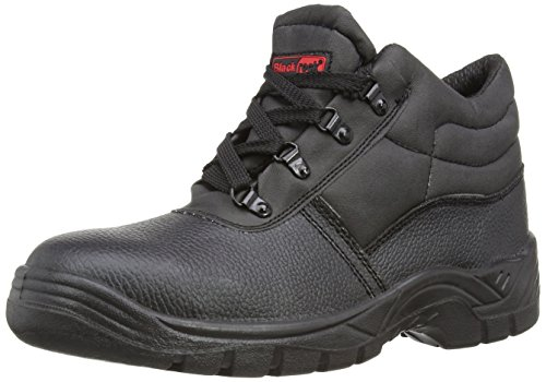 Blackrock SF02, Unisex-Erwachsene Sicherheitsschuhe, Schwarz (Black), Gr. EU 42 (UK 8)