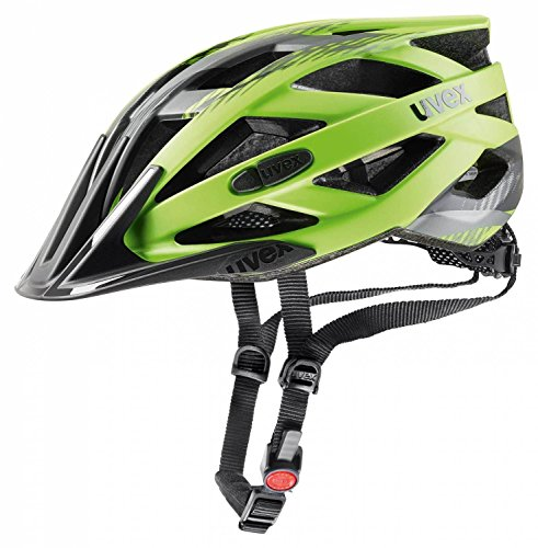 Uvex I-Vo Cc Fahrradhelm, Green-Black Mat, 56-60 cm