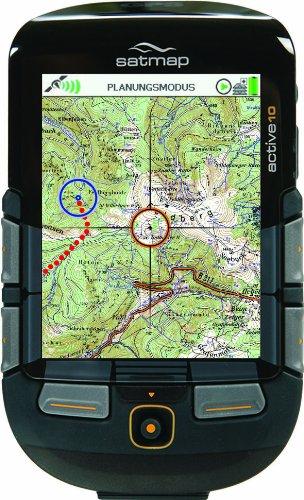 SatMap GPS Ger�t Active 10 PLUS & Brandenburg, Berlin, Sachsen-Anhalt Karte 1:50000 & 1:25000