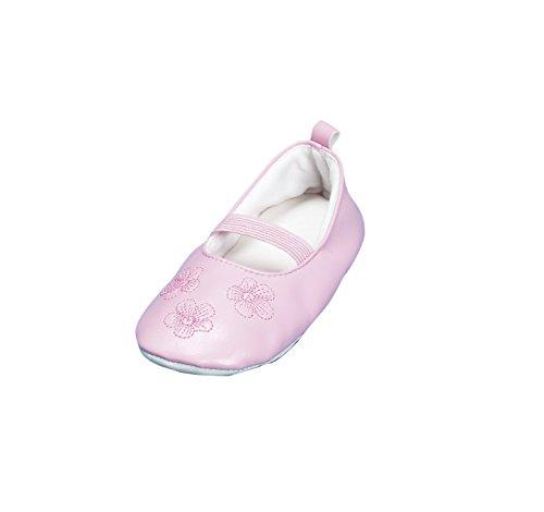 Playshoes Gymnastikschuhe, Balettschl�ppchen Blumen 208751, M�dchen Ballerinas, Pink (original 900), EU 26/27