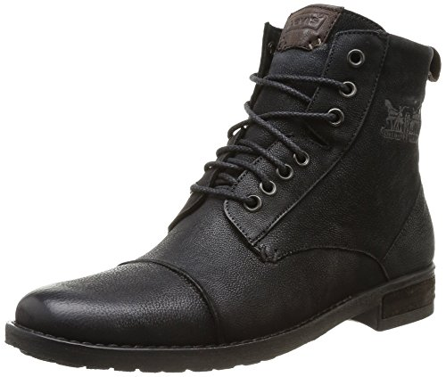 Levi's Maine Lace Up 222527-872 H, Herren Stiefel, Schwarz (Regular Black 59), EU 44