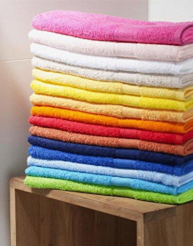 Handtuch bestickt mit Ihrem Namen oder Wunschtext, verschiedene Farben, Gr��en und Schriften