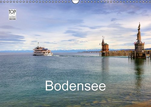 Bodensee (Wandkalender 2017 DIN A3 quer): Eine fotografische Rundreise um den Bodensee mit Besuchen in Lindau, Friedrichshafen, Meersburg und vielen ... (Monatskalender, 14 Seiten) (CALVENDO Orte)