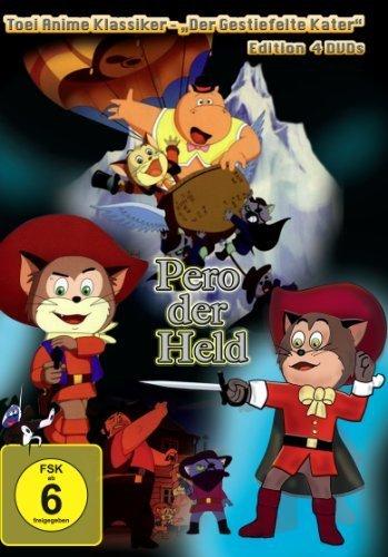 """Pero der Held - """"Der gestiefelte Kater"""" Edition [4 DVDs]"""