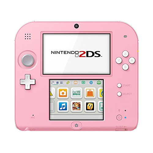 Nintendo 2DS - Konsole (White + Pink)