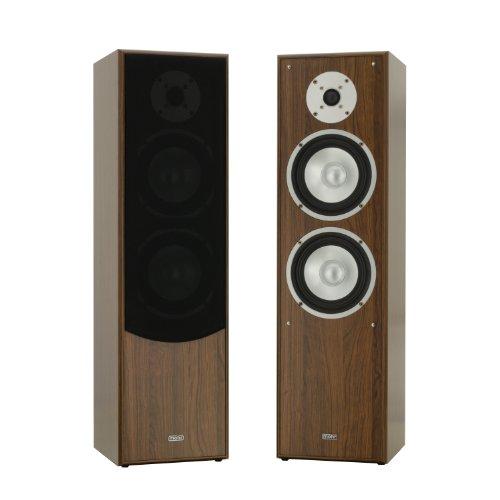 1 Paar Standlautsprecher Mohr SL10 Nussbaum, Lautsprecherboxen, HiFi Klang zum g�nstigen Preis