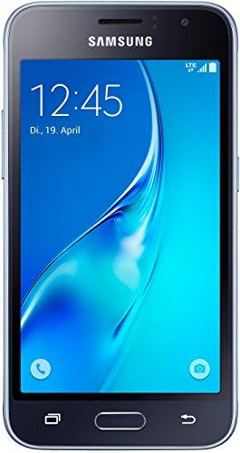 Samsung Galaxy J1 (2016) Smartphone (4,5 Zoll (11,41 cm) Touch-Display, 8 GB Speicher, Android 5.1) schwarz