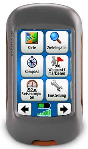 Garmin Dakota 20 GPS-Handger�t (barometrischer H�henmesser, 850MB Speicher, 6,6cm (2,6 Zoll) Touch-Farbdisplay)