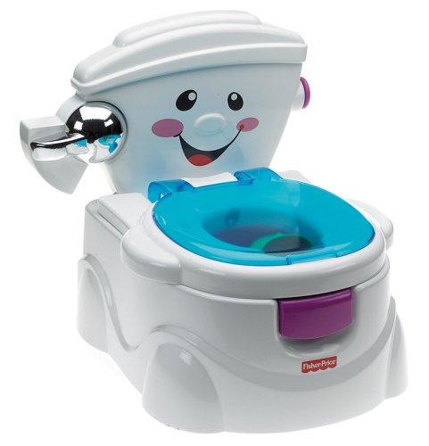 Mattel Fisher-Price P4326 - Meine erste Toilette, T�pfchen