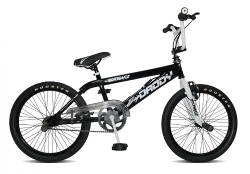Rooster Bmx 20' Big Daddy Spoked Model 2012 4 X Stunt Pegs 360 Grad Rotor, schwarz, Rahmenh�he: 28 cm, Reifengr��e: 20 Zoll (51 cm), RS20