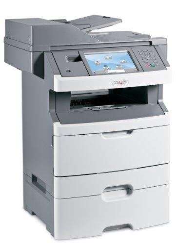 Lexmark X466dte Multifunktionsger�t (Monochrome-Laserdrucker, Scanner, Kopierer, Fax)
