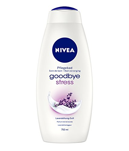 Nivea Goodbye Stress Cremebad, Badezusatz, 1er Pack (1 x 750 ml)