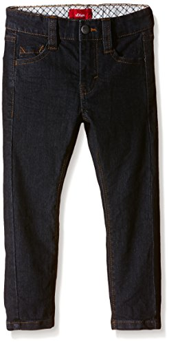 s.Oliver Junior Jungen Jeanshose 5-Pocket, Einfarbig, Gr. 104 (Herstellergr��e: 104/REG), Blau (blue denim stretch 59Z8)