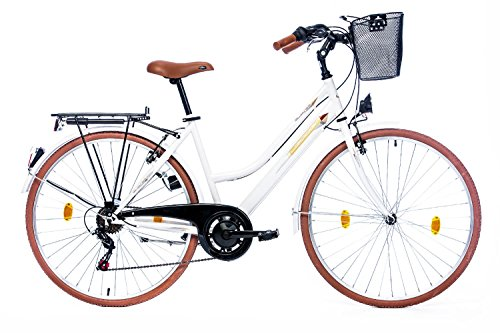 Leader Elysee Comfort 26 Zoll Citybike Wei� (2016)