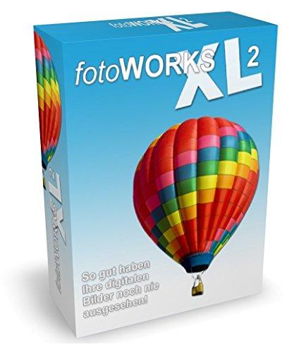 Fotoworks XL 2 (2016er Version) Bildbearbeitungsprogramm zur Bildbearbeitung in Deutsch - umfangreiche Funktionen beim Fotos bearbeiten und einfache Handhabung