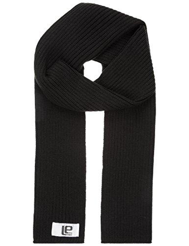 Lower East Herren Strickschal, breitrippig, in verschiedenen Farben, Gr. One size, schwarz