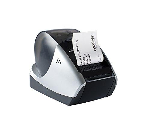 Brother P-touch QL570 Etikettendrucker (USB 2.0) schwarz/silber