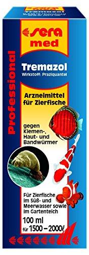 sera 02192 med Professional Tremazol 100 ml - Arzneimittel f�r Zierfische gegen Kiemen, Haut und Bandw�rmer