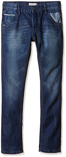 NAME IT Jungen Jeanshose nitROSS WIN K REG/SLIM DNM PANT NOOS, Gr. 128, Blau (Medium Blue Denim)