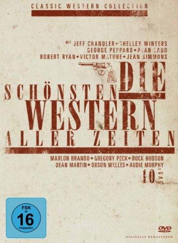 Die sch�nsten Western aller Zeiten - Sammlerbox [10 DVDs]