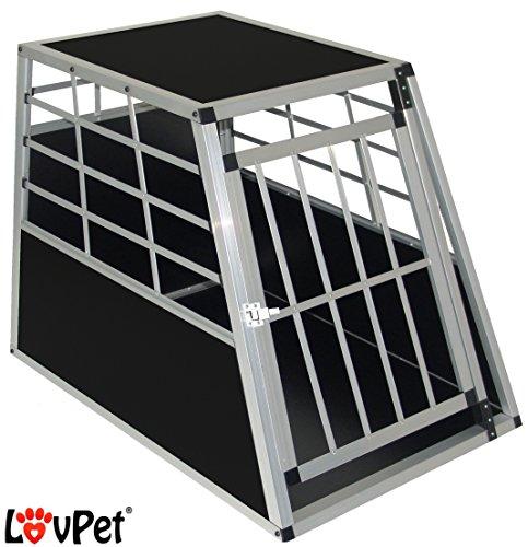 LovPet� Hundebox Transportbox Alubox Hundetransportbox Reisebox Alu Haustiere, Gr��e:L