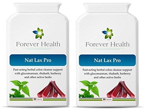 NAT LAX PRO - Nat Lax Pro ist die ultimative pflanzliches Abf�hrmittel - Es benutzt nur leistungsstarken pflanzlichen Zutaten wie RHABARBER Wild Yam und Knoblauch schnell entlasten einem blockierten Kolon / Darm und wird auf der weltber�hmten Dr. Christopher Formel basiert - speziell entwickelt, um schnelle Hilfe zu geben Verstopfung und andere Magen-Darm-Erkrankungen wie IBS oder Reizdarmsyndrom - das Gef�hl, frisch und sauber - 180 Darmreinigung Tabletten