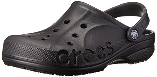 crocs Baya Blk M12,Unisex-Erwachsene Clogs,Schwarz,EU46/47(UK11)