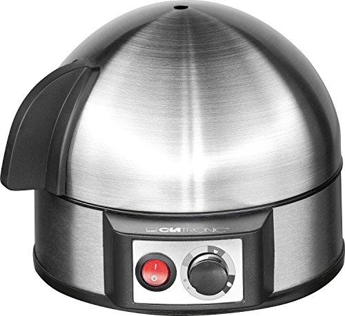 Clatronic 263 118 EK 3321 Eierkocher mit H�rtegradeinstellung (7 Eier) 400 Watt inox