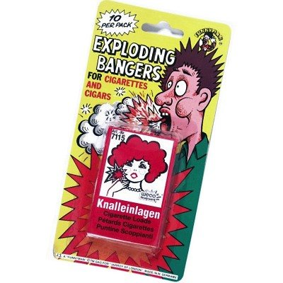 Knalleinlagen f�r Zigaretten EXPLODING BANGERS