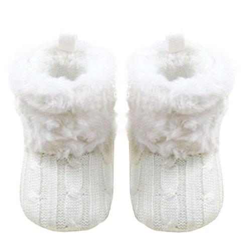 Ularmo Schuhe f�r 0-36 Monate Baby, Snow Boots Soft-Krippe Schuhe Kleinkind Stiefel (11cm(0-12 Monate))