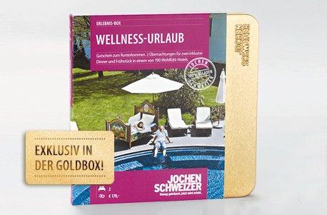 Erlebnis-Box 'Wellness-Urlaub f�r 2'