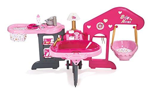 Smoby 220318 - Baby Nurse Puppenpflege-Center