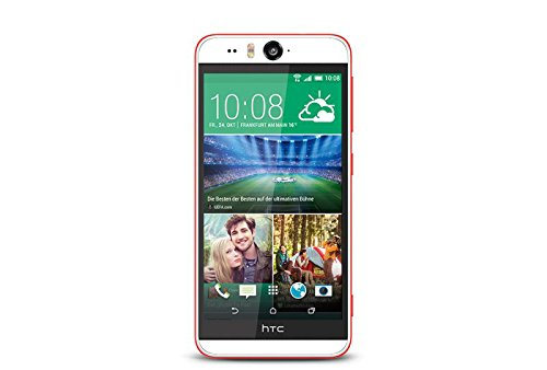 HTC Desire Eye Coral Reef Smartphone (13,2 cm (5,2 Zoll) Display, Quad-Core Prozessor,16GB interner Speicher, 13 Megapixel Kamera, micro-USB, Android KitKat 4.4)