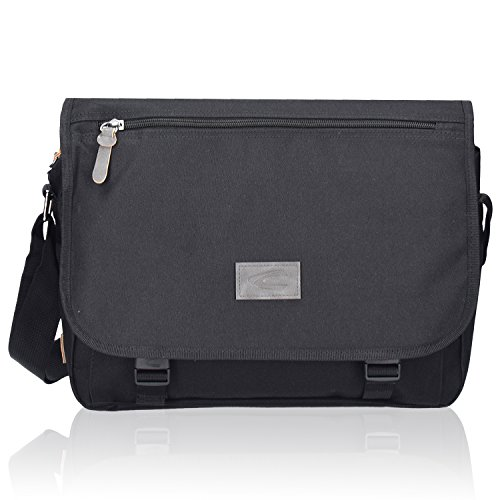 camel active London Messenger Umh�ngetasche Aktentasche 35 cm black