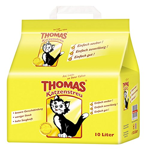 Thomas Katzenstreu, 1 Packung (1 x 10 l)