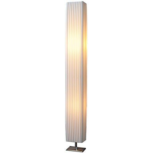 Design Stehlampe PARIS weiss