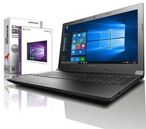 Lenovo Notebook 15,6 Zoll, Intel N2840 Dual Core, 2x2.58 GHz, 8GB RAM, 750GB, Intel HD Graphic, HDMI, Win10 Prof. 64 Bit (shinobee-Edition) #4983