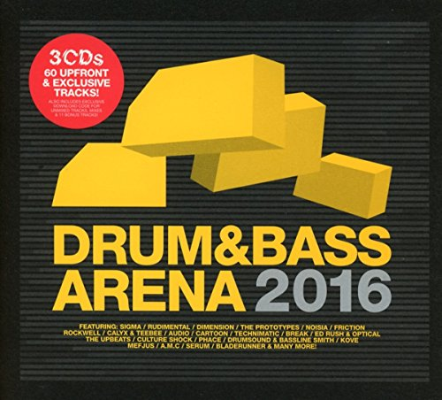 Drum & Bass Arena 2016 (3cd+Mp3)