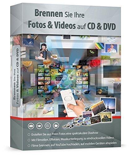 Brennen Sie Ihre Fotos und Videos auf CD & DVD
