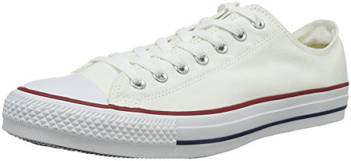 Converse Converse Sneakers Chuck Taylor All Star M7652, Unisex-Erwachsene Sneakers, Wei� (Optical White), 38 EU (5.5 Erwachsene UK)