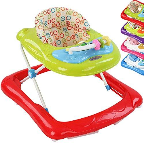 Infantastic Babywalker Lauflernhilfe Gehfrei Lauflernwagen Walker Gehhilfe inkl. Konsole mit sch�nen Kindermelodien